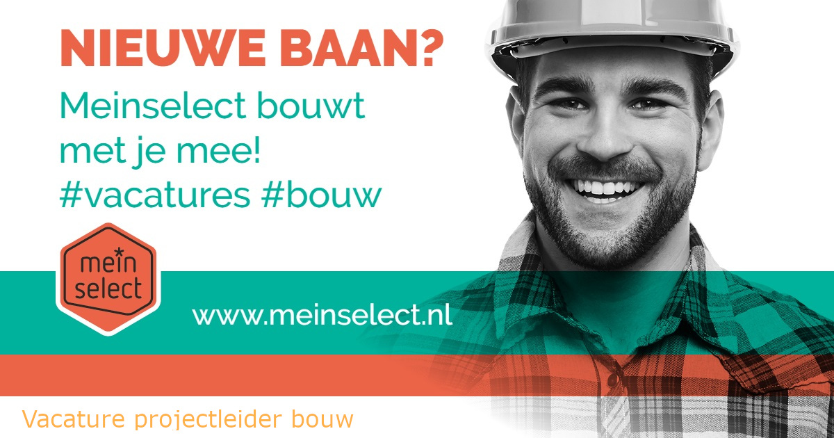Vacature projectleider bouw