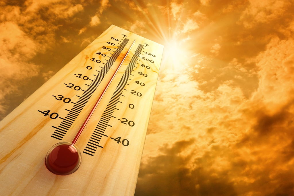 Zon thermometer